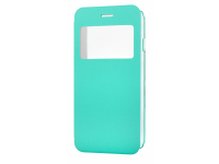 Husa piele Apple iPhone 6 View turquoise