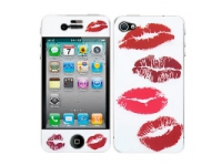 Kit personalizare telefon Apple iPhone 4 Red Lips