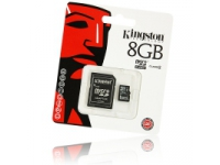 Card memorie MicroSDHC Kingston cu adaptor 8Gb Blister