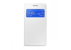 Husa piele Samsung Galaxy Core II EF-CG355BW alba Blister Originala