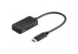 Adaptor USB Type-C Multiport Goobay Original