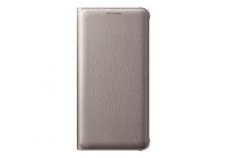 Husa Samsung Galaxy A3 (2016) A310 EF-WA310PFEGWW Flip Wallet aurie Blister Originala