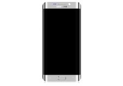 Display cu touchscreen si rama Samsung Galaxy S6 edge+ G928 argintiu