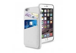Husa piele Apple iPhone 6 Muvit Cardslot MUBKC0827 Alba Blister Originala