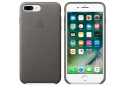 Husa piele Apple iPhone 7 Plus MMYE2ZM Gri Blister Originala