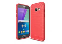Husa silicon TPU Samsung Galaxy A3 (2017) A320 Carbon Rosie Blister