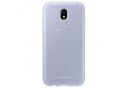 Husa Silicon TPU Samsung Galaxy J5 (2017) J530 Jelly Cover EF-AJ530TLEGWW Bleu Transparenta Blister Originala