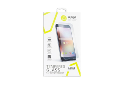 Folie Protectie ecran Apple iPhone X AMA Tempered Glass Full Face 5D Alba Blister
