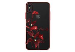 Husa silicon TPU Apple iPhone 7 Kingxbar Elegant Calla Lily Rosie Blister Originala