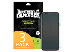 Folie Protectie Ecran Ringke pentru Samsung Galaxy S9+ G965, Plastic, Full Face, Set 3 buc, Blister