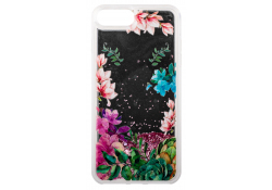 Husa TPU OEM Liquid Mirror Flower pentru Apple iPhone 7 Plus / Apple iPhone 8 Plus, Multicolor, Bulk