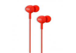 Handsfree Casti In-Ear XO Design XO-S-6, Cu microfon, 3.5 mm, Rosu, Blister