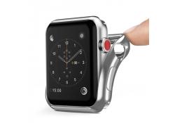Husa TPU DUX DUCIS pentru Apple Watch Edition series 2 42mm, Argintie, Blister