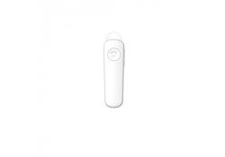 Handsfree Casca Bluetooth DEVIA Smart 4.1, MultiPoint, Alb, Blister