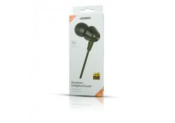 Handsfree Casti In-Ear JELLICO Stereo X4A, Cu microfon, 3.5 mm, Negru, Blister