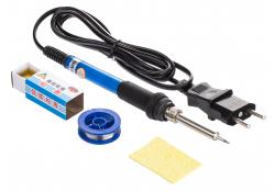 Set Letcon / Ciocan de lipit electric OEM, 110V, 4in1, 60W, buton reglare temperatura
