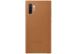 Husa Piele Samsung Galaxy Note 10+ N975, Leather Cover, Camel, Blister EF-VN975LAEGWW