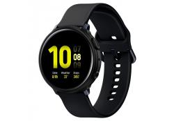 Husa TPU Spigen Liquid Air Matt pentru Samsung Galaxy Watch Active2 40mm, Neagra, Blister