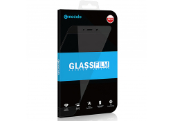 Folie Protectie Ecran Mocolo pentru Huawei P40 lite, Sticla securizata, Full Face, Full Glue, 0.33mm, 9H, 5D, Neagra, Blister