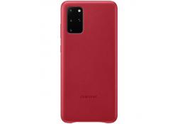 Husa Piele Samsung Galaxy S20 Plus G985 / Samsung Galaxy S20 Plus 5G G986, Leather Cover, Rosie, Bulk EF-VG985LREG