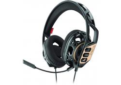 Casti Gaming Over-Ear Plantronics RIG 300, Negre Aurii, Blister