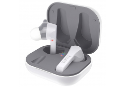 Handsfree Casti Bluetooth HOCO ES34 Pleasure TWS, SinglePoint, Alb, Blister