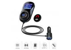 Modulator FM Bluetooth Tellur FMT-B4, microSD, USB QuickCharge 3.0, Negru, Blister TLL622031