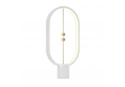 Lampa LED OEM, Allocacoc Heng Balance Lamp Ellipse T Plastic, USB Type C, 5W, 50 lm, 1A 5V, lumina calda, Alba, Blister