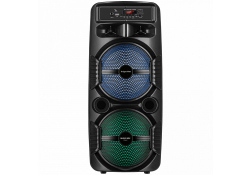 Boxa Bluetooth Kruger&Matz Music Box Maxi, 10W, TWS, Iluminare Led, Neagra
