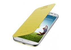 Husa Samsung I9500 Galaxy S4 EF-FI950BYEGWW galbena Blister Originala