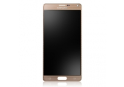 Display cu touchscreen Samsung Galaxy Note 4 N910 auriu