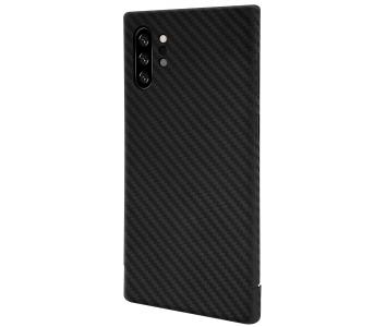 Husa Fibra Carbon Nevox pentru Samsung Galaxy Note 10+ N975, CarbonSeries, Ne...