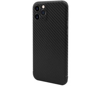 Husa Fibra Carbon Nevox pentru Apple iPhone 11 Pro Max, CarbonSeries, Neagra,...