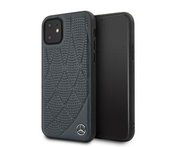 Husa Piele MERCEDES Genuine Leather pentru Apple iPhone ...