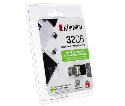 Memorie externa OTG Kingston DataTraveler microDUO 3.0 32GB Blister
