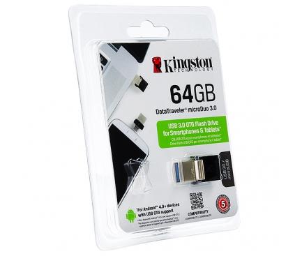 Memorie externa OTG Kingston DataTraveler microDUO 3.0 64GB Blister