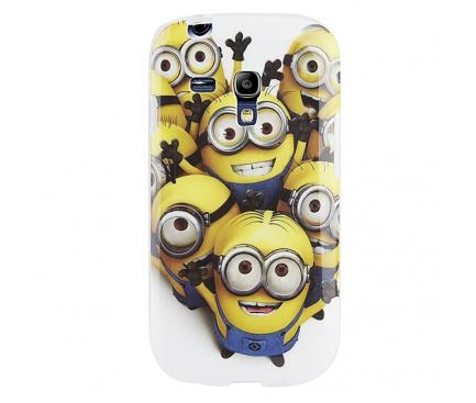 Husa silicon TPU Samsung I8190 Galaxy S III mini Minions