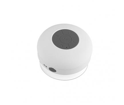 Difuzor Bluetooth Waterproof BT101 cu ventuza alb