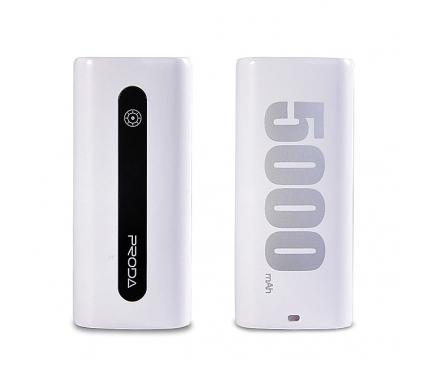 Baterie externa Powerbank Remax Proda E5 5000mA alba Blister Originala