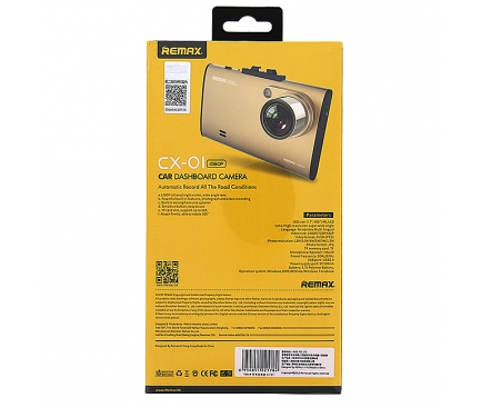 Camera auto Remax CX-01 aurie Blister Originala