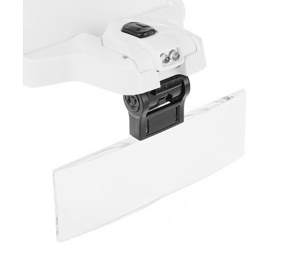 Ochelari reparatii service cu 5 lentile interschimbabile si LED Blister