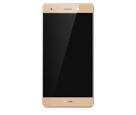 Display - Touchscreen Huawei P8lite (2015) ALE-L21, Cu rama, Auriu