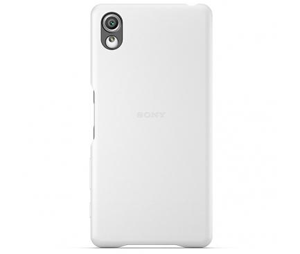 Husa piele Sony Xperia X SBC22 Alba Blister Originala