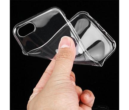 Husa silicon TPU Apple iPhone 7 Transparenta