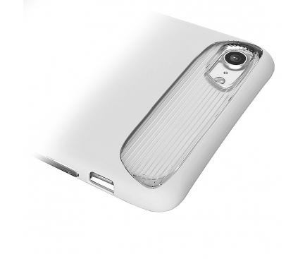 Husa silicon TPU Apple iPhone 7 Baseus Angel Alba Blister Originala
