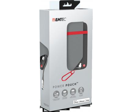 Baterie externa Powerbank Emtec Power Pounch U500AP 6000mA Blister Originala
