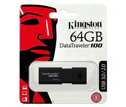 Memorie externa Kingston DataTraveler 100 G3 64Gb Blister