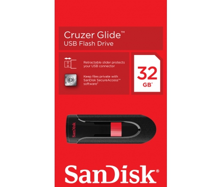 Memorie externa SanDisk Glide 32Gb Blister