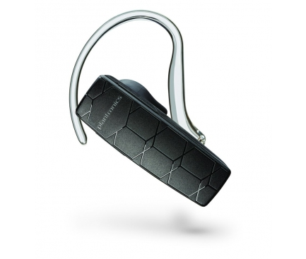 Handsfree Casca Bluetooth Plantronics Explorer 50 cu Adaptor priza 2.1A Blister Original