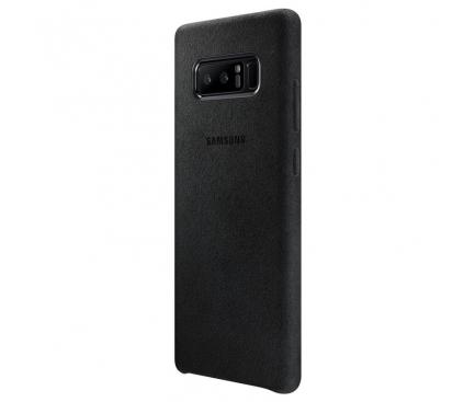 Husa Samsung Galaxy Note8 N950 Alcantara EF-XN950ABEGWW Blister Originala